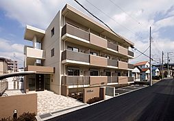 神奈川県海老名市柏ケ谷の賃貸マンションの外観