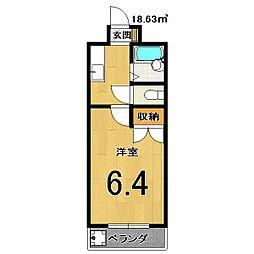 D s AQUILA[3階]の間取り