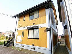 神奈川県茅ヶ崎市代官町の賃貸アパートの外観