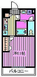 リブリ・Kawaguchi[305号室]の間取り