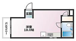 本山ハイツ[1階]の間取り