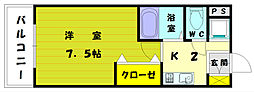 SAISON21[2階]の間取り