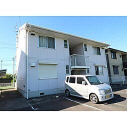 奈良県大和郡山市野垣内町の賃貸アパートの外観