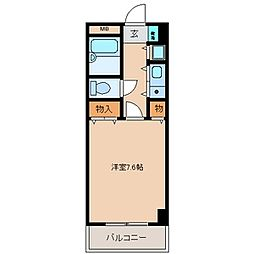 サンモール[11階]の間取り