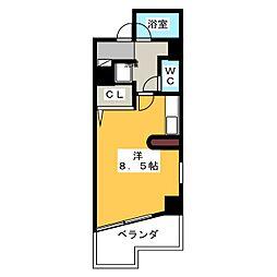 アネックス御器所[3階]の間取り