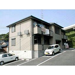山口県下関市筋ケ浜町の賃貸アパートの外観
