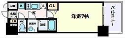 阪急神戸本線 春日野道駅 徒歩2分の賃貸マンション 5階1Kの間取り