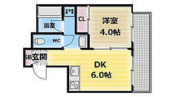 シャラロステ[2階]の間取り
