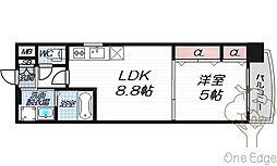 ランドマークシティ梅田東[2階]の間取り