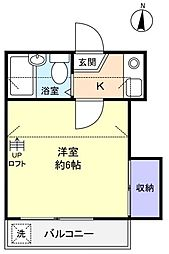 Sun Garden壱番館[2階]の間取り