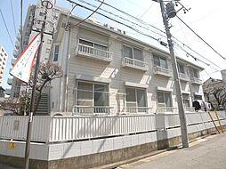 東京都足立区竹ノ塚6丁目の賃貸アパートの外観
