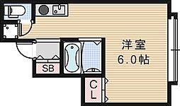 シャンブル昭和町[2階]の間取り