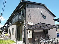 岡山県倉敷市連島中央4の賃貸アパートの外観