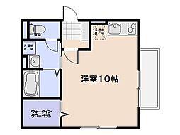 サンフィールド[2階]の間取り
