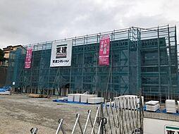 木更津市真舟5丁目新築アパート[208号室]の外観