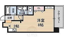 サン・グレート・ESAKA[7階]の間取り