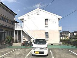 静岡県浜松市中区中島4丁目の賃貸アパートの外観