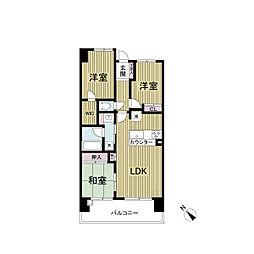 レジディア都島II(旧:グレンパーク都島II)[0205号室]の間取り