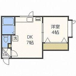 アークコート栄町II[3階]の間取り