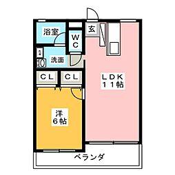 STAGE21[3階]の間取り