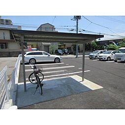 栃木県宇都宮市花房2丁目の賃貸アパートの外観
