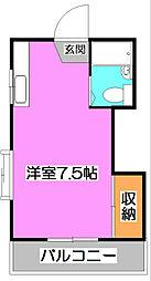 埼玉県新座市新堀3の賃貸アパートの間取り