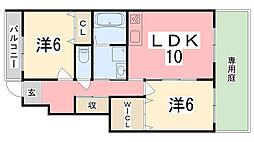 スカイルーム I[103号室]の間取り