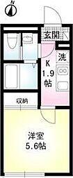 クリエイト上井草[2階]の間取り