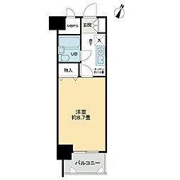 ライオンズマンション開運橋[8階]の間取り