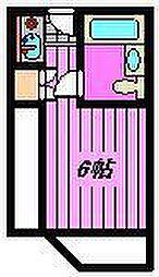 リバティー大宮[506号室]の間取り