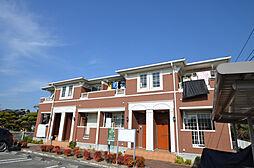 兵庫県姫路市網干区福井の賃貸アパートの外観
