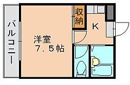 ルナコート南福岡[2階]の間取り