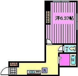 コスモプレイス東浦和[4階]の間取り