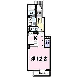 エンプレイスII[1階]の間取り