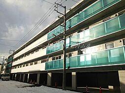 北海道札幌市中央区南二十条西12丁目の賃貸マンションの外観