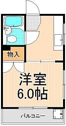 田中マンション[105号室]の間取り