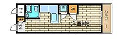 兵庫県神戸市長田区大橋町3丁目の賃貸マンションの間取り