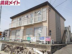 東日野ハイツ A棟[1階]の外観
