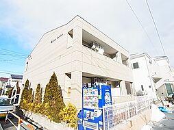 東京都足立区東伊興4丁目の賃貸アパートの外観