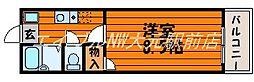 メモリー鹿田[4階]の間取り