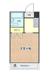 中葛西ロイヤルハイツIII[1階]の間取り
