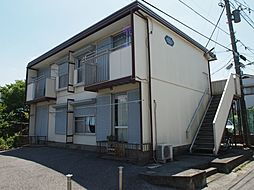 千葉県千葉市中央区椿森1丁目の賃貸アパートの外観