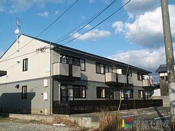 福岡県古賀市庄の賃貸アパートの外観