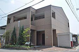 京都府京田辺市三山木柳ケ町の賃貸マンションの外観