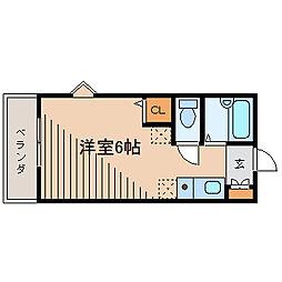 メゾンOKB[1階]の間取り