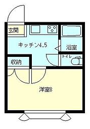 FPkanyo[203号室]の間取り