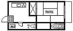 富山ビル[303号室]の間取り