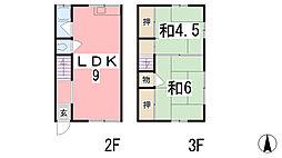 竹内マンション[201号室]の間取り