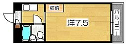 AXIA京都[5階]の間取り