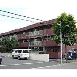 北海道札幌市豊平区平岸五条6丁目の賃貸マンションの外観